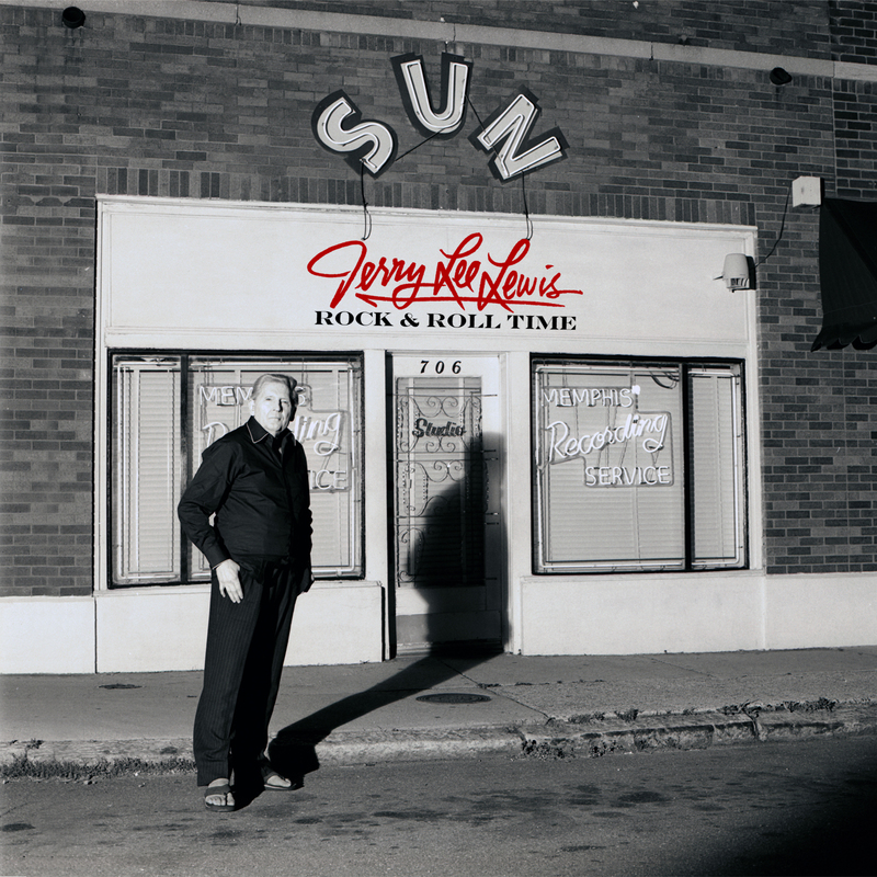 "Albumcover Jerry Lee Lewis - ""Rock & Roll Time"""