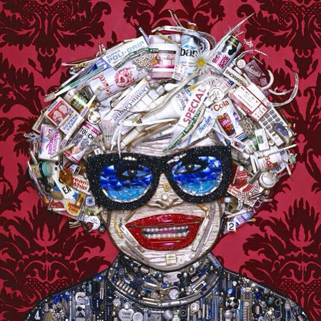 25-Carol-Channing-Jason-Mecier-Paintings-or-Sculptures-in-Portrait-Collage-www-designstack-co