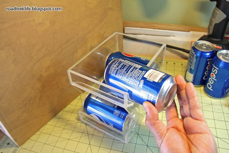 Loading Soda Cans.