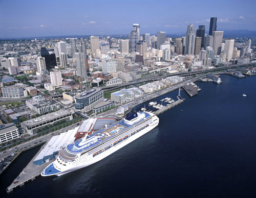 Professor Cruise Ship Cruise Port Seattle Usa