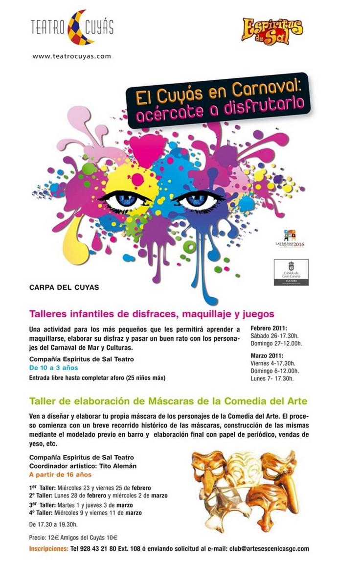 "Talleres ""EL CUYÁS EN CARNAVAL"" 2011"