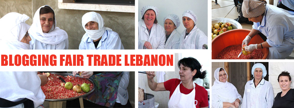 Blogging Fair Trade Lebanon
