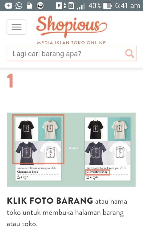 Belanja Online di SHOPIOUS.COM, just as simple as you choose