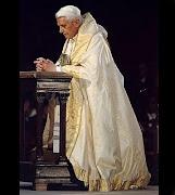 Oremos pelo Pontífice Romano Emérito