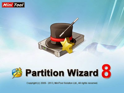 MiniTool Partition Wizard Professional v8.1.1 portable