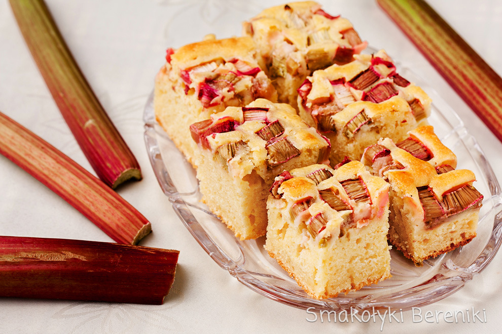 Ciasto Jogurtowe Z Rabarbarem Smakolyki Bereniki