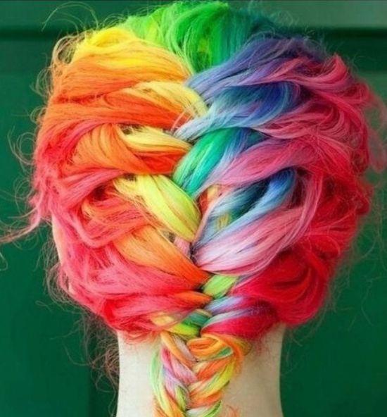 цвета радуги фото: