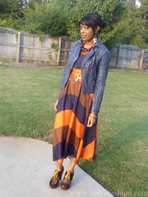 Maxi Dresses Pumpkin Fashion