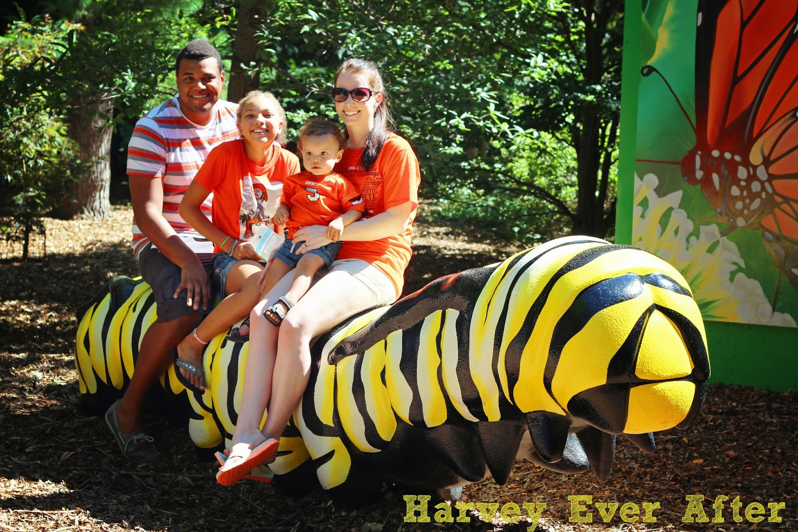 Harvey Family at the Lincoln Children's Zoo