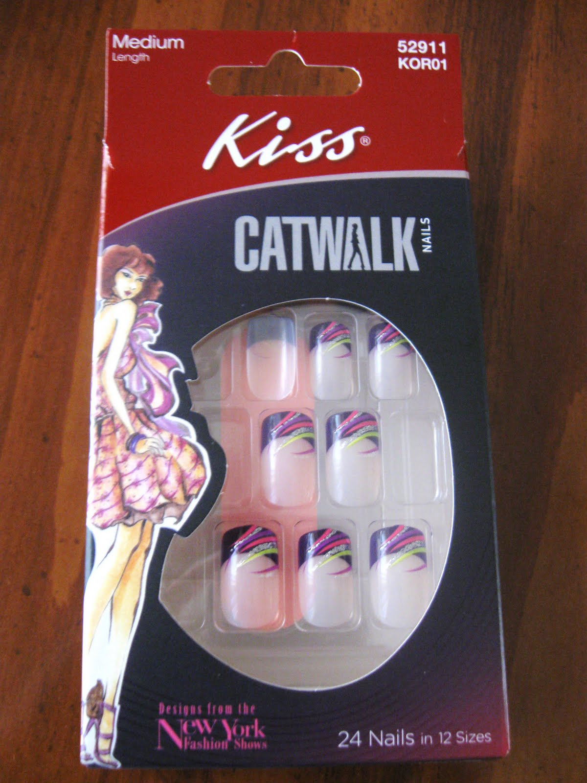 Simply, Autumn Rush: Kiss Catwalk Glue On Nails: Designs From NY ...