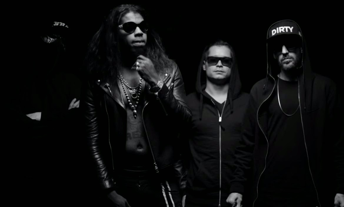 DIRTYPHONICS & ƱZ - 'HUSTLE HARD' feat TRINIDAD JAMES