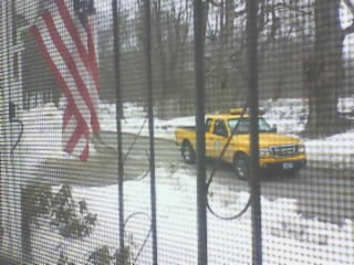 Yellow CL&P Truck