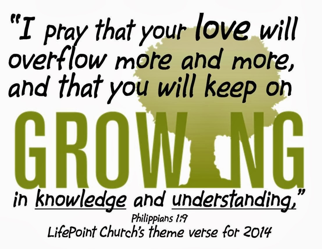 Theme verse for 2014
