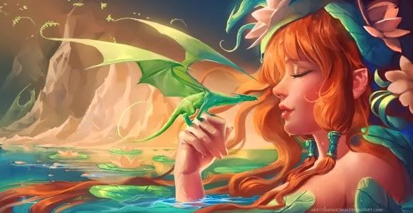 Fantasy Art Karya Sakimichan