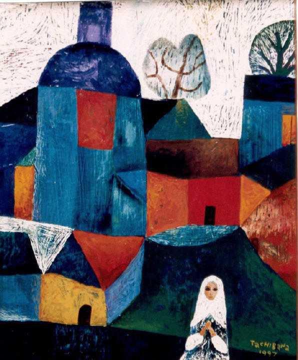 Yoshiro Tachibana 1941 | Japanese naif painter