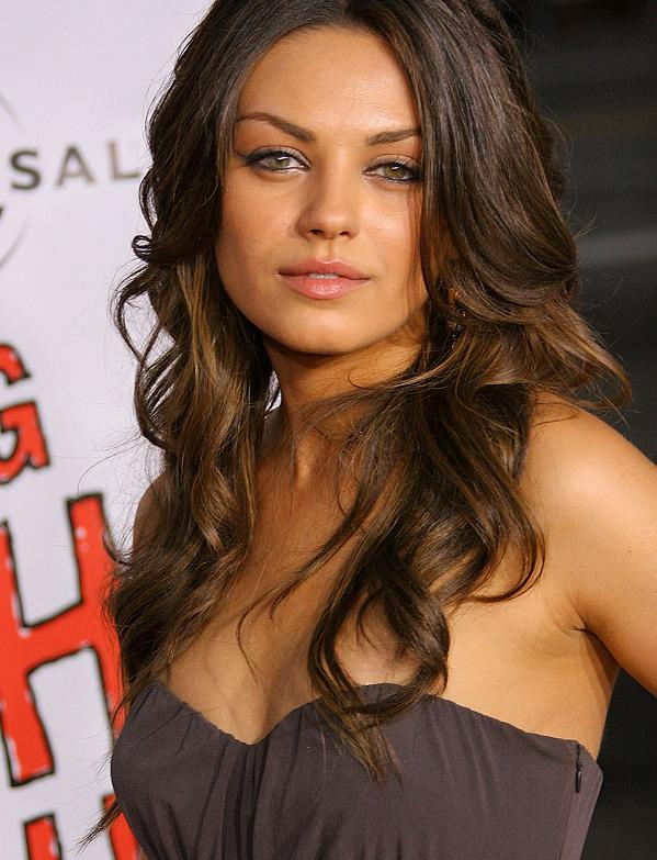 The Top Ten Hot Mila Kunis Photos