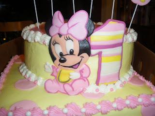 Minnie Mouse Bebe Lindas Ideas Para Decorar La Primera Fiesta De - Adornos-de-minnie-para-cumpleaos