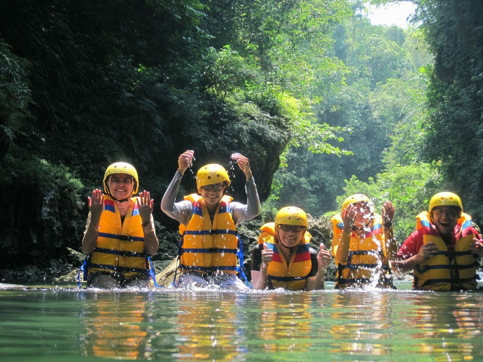 wow amazing body rafting