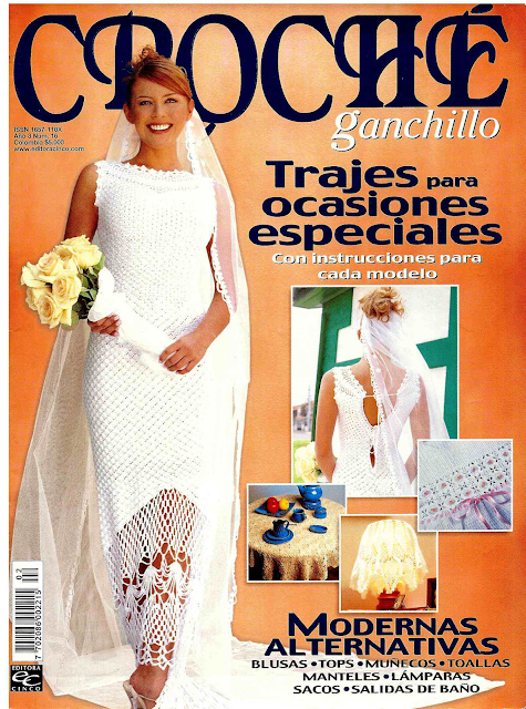 REVISTA CROCHE GANCHILLO PARA DESCARGAR Y PDF GRATIS