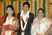 Rahul and Chinmayi wedding reception photos-thumbnail-12