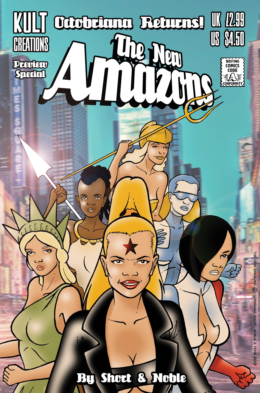 Buy THE NEW AMAZONS PREVIEW SPECIAL below!