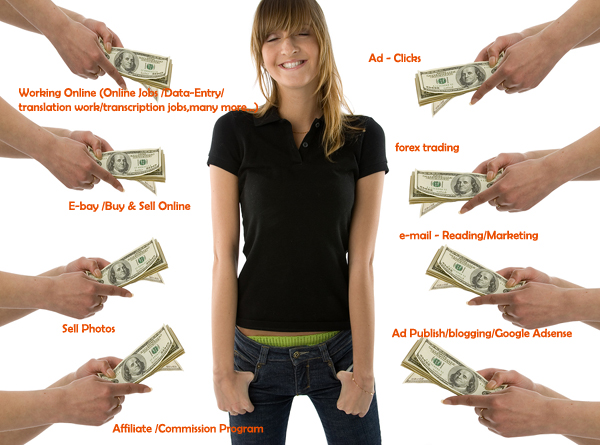 how to make money on the internet 2015