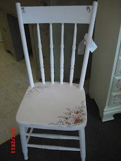 Hand Painted Furniture Flowers