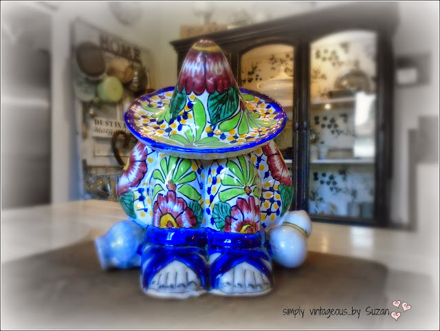 TALAVERA CERAMIC COOKIE JAR