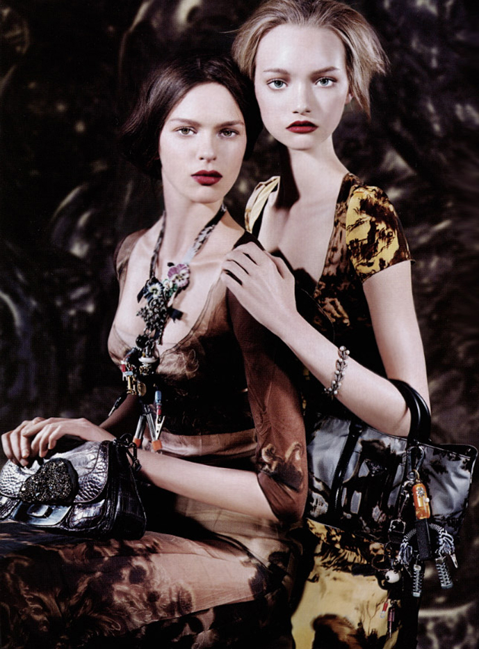 prada fall winter 2004 campaign steven meisel