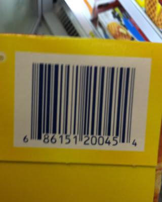 Shopkick Barcodes: Checkpoints Barcodes