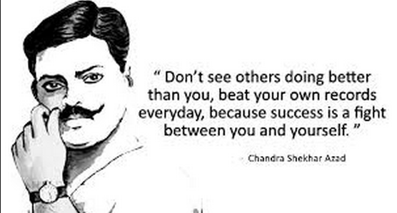 Chandra Sekhar Azad Quote