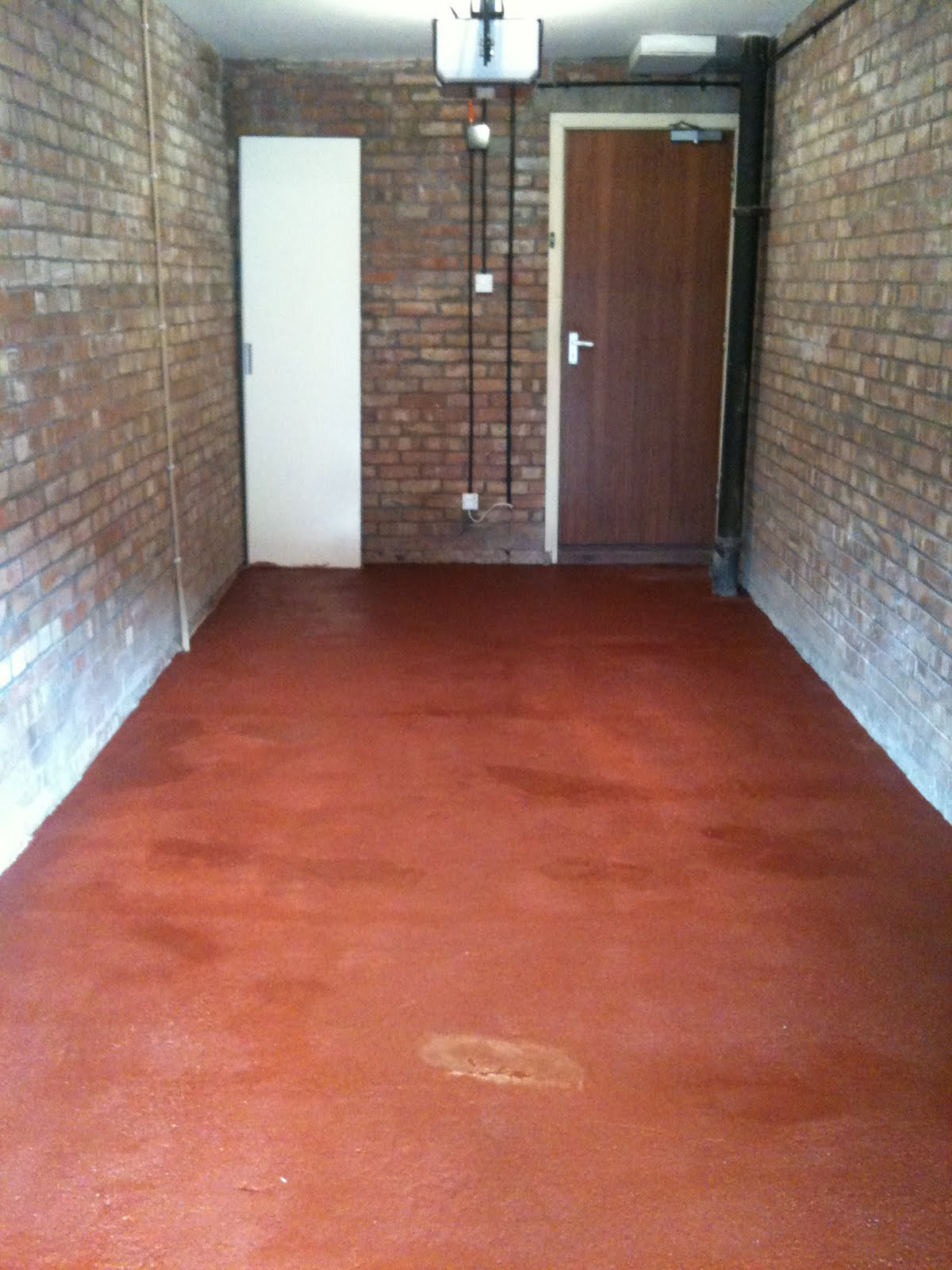 The Ronseal Garage Floor Paint Was Really Easy To Use For First Coat Direct Onto Concrete I Diluted With Water By 20 Ish