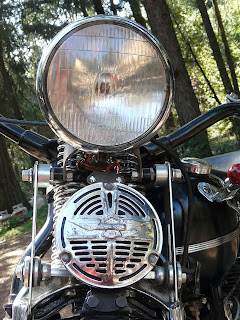 1942 Harley Knucklehead Headlight