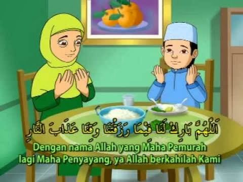Bacaan Doa Sebelum Makan dan Sesudah makan Arab, Latin dan ...