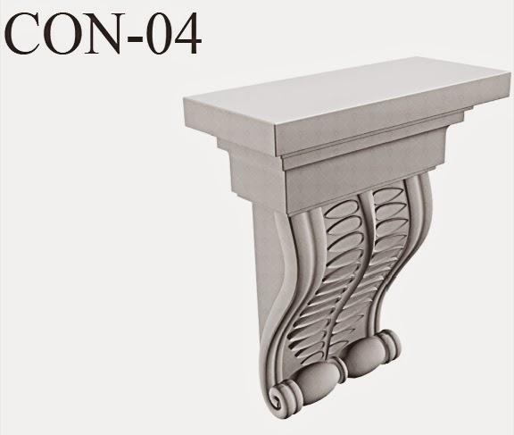 console precum elemente decorative pentru fatade case, exterior, diferite modele, personalizate