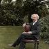 Mark Twain in the garden c.1900