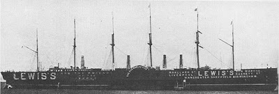 steam boat Barco de vapor SS Great Eastern Gran Oriental