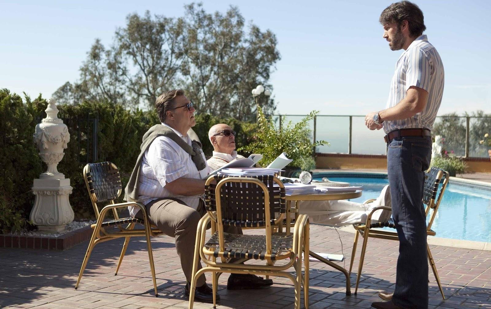 John Goodman, Alan Arkin, and Ben Affleck