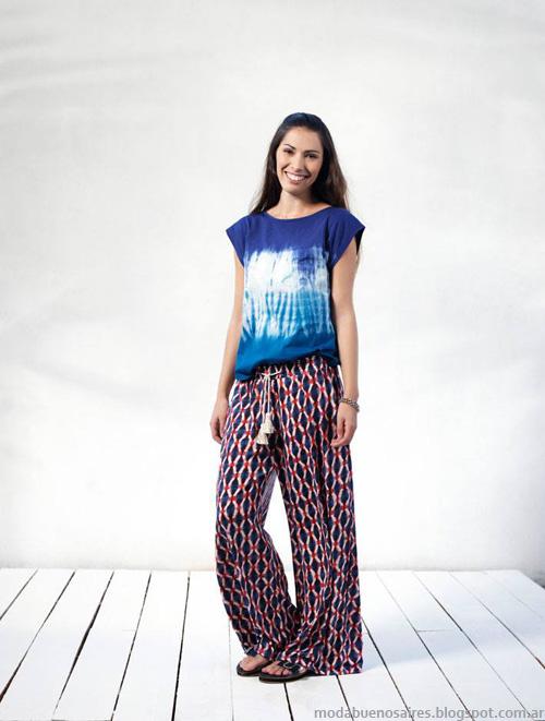 Ver primavera verano 2014 pantalones. Moda verano 2014.