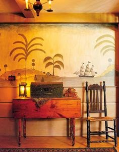 Eye For Design Decorate With Primitive Colonial Murals