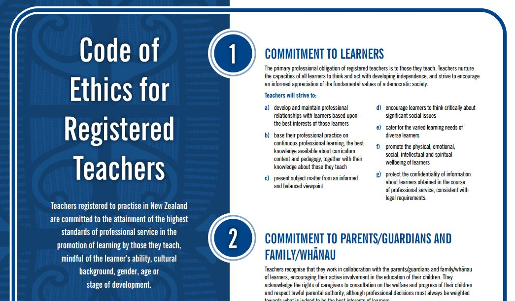 ethics of teachers Cec code of ethics for educators of persons with exceptionalities we declare the following principles to be the code of ethics for educators of persons with exceptionalities members of the special education profession are responsible for upholding and advancing these principles.