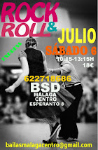 ROCK & ROLL INICIACIÓN JULIO SÁBADO 6 EN BSD MÁLAGA CENTRO.
