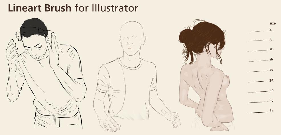 Line Art Adobe Illustrator : Comix tuts illustrator lineart brush