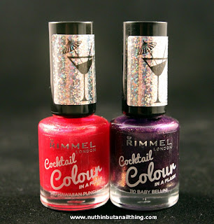 Rimmel Cocktail Collection Swatches
