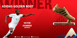 Victor Osimhen - Golden Boot winner