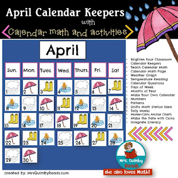 Calendar Keepers for April
