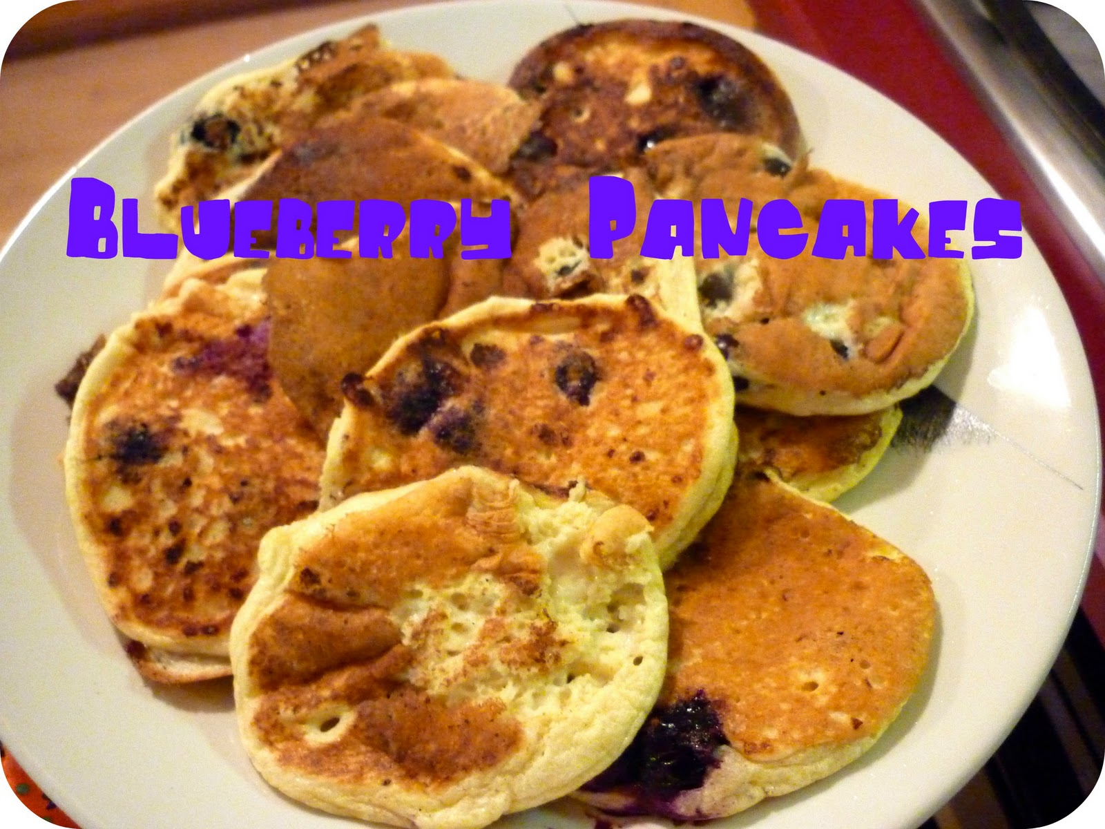 Good Looking Home Cooking: Cottage Cheese Blueberry Pancakes