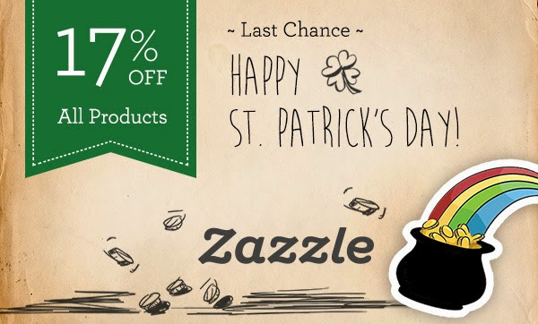 St. Patrick's Day Zazzle Sale