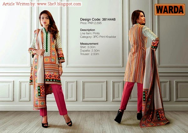 Warda Catalog for Winter-14