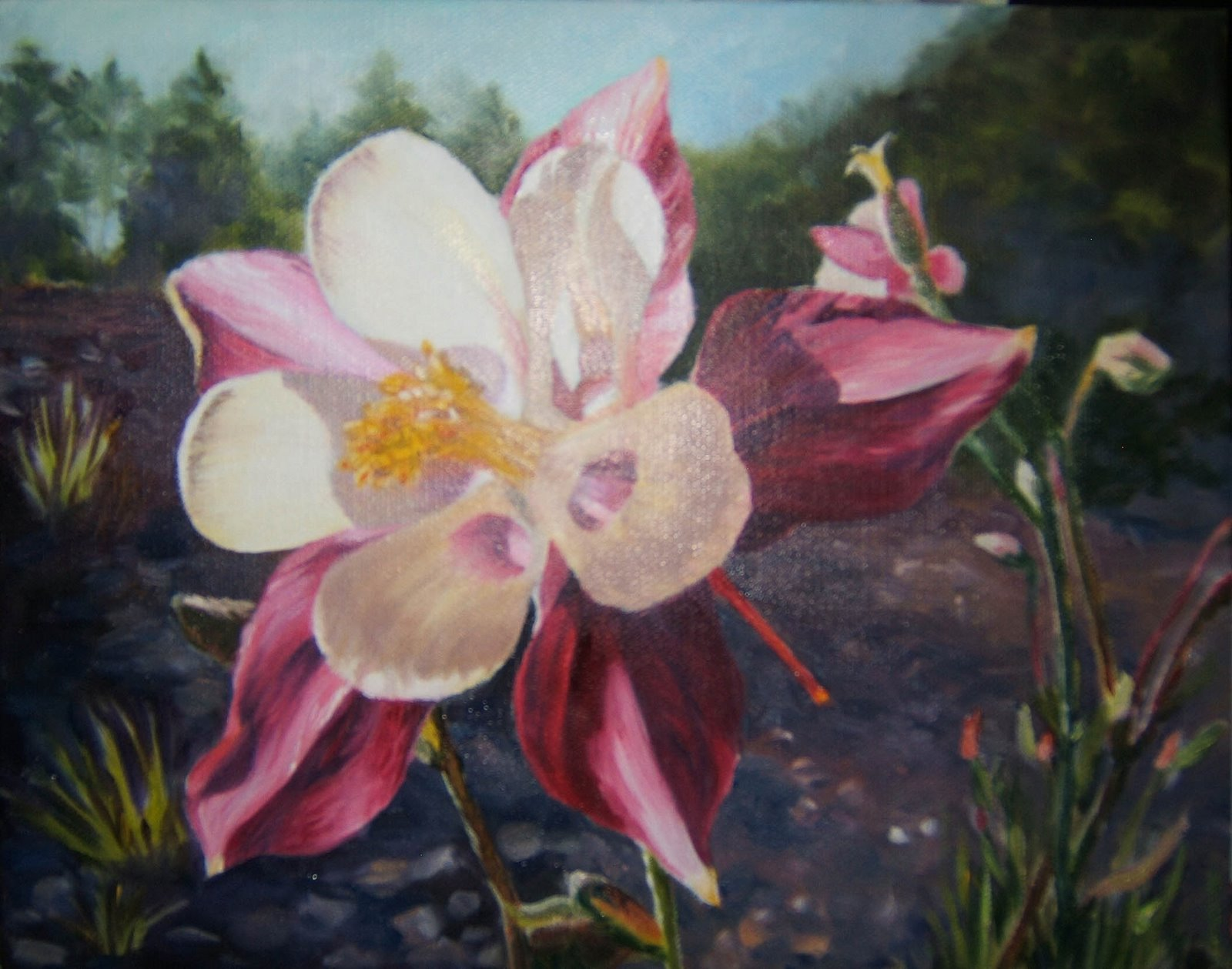 """8"""" x 10"""" oil on canvas, copyright 2009 Tina M. Welter"""